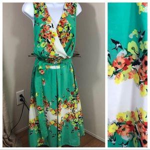 Dressbarn | Floral Sleeveless Dress